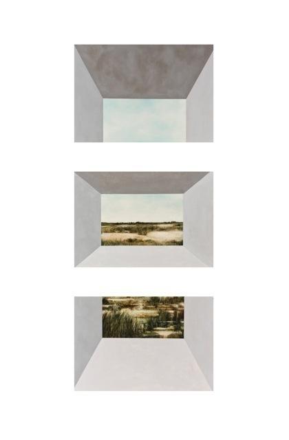 , 'Magnetic Field (Triptych),' 2014, K. Imperial Fine Art