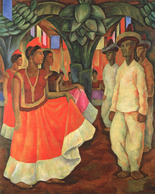 , 'Dance in Tehuantepec,' 1928, Philadelphia Museum of Art