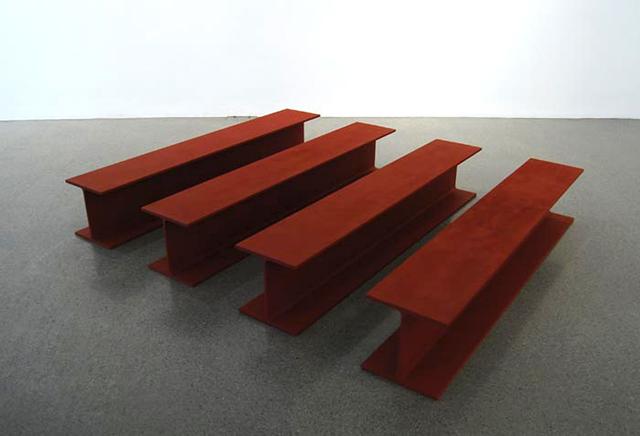 Rasheed Araeen, 'Sculpture No. 1', 1965, Sculpture, Steel, paint, Aicon Gallery