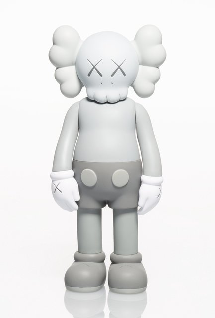 KAWS, 'Companion (Grey)', 2016, Sculpture, Painted cast vinyl, Heritage Auctions