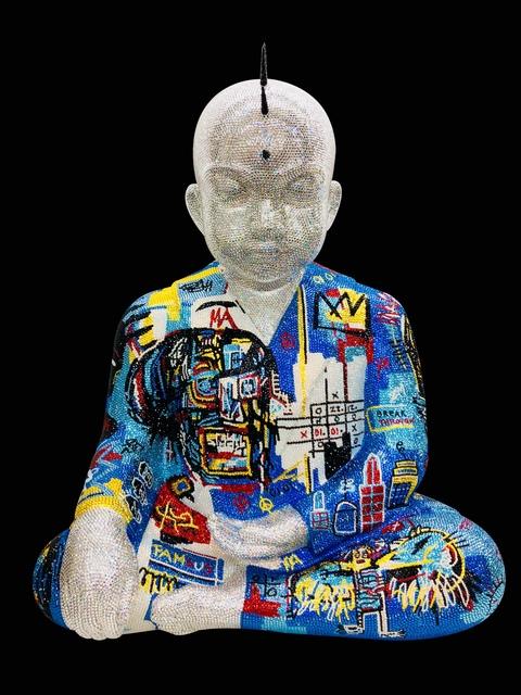 "Metis Atash, 'PUNKBUDDHA XLarge ""UNTITLED MASTERPIECE"" feat. BASQUIAT', 2017, Galerie de Bellefeuille"
