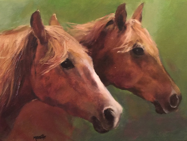 , 'Two Horses,' , Cosmopolitan Fine Arts