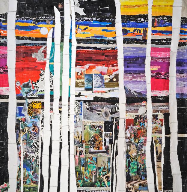 , 'Interdimensional Realms I,' 2017, Hemphill Artworks