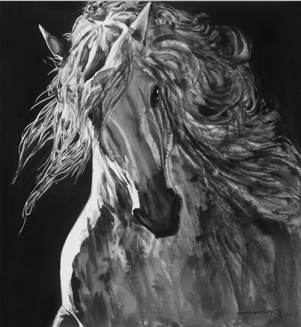 , 'Portrait of the horse No. 1马的肖像1,' 2017, Amy Li Gallery