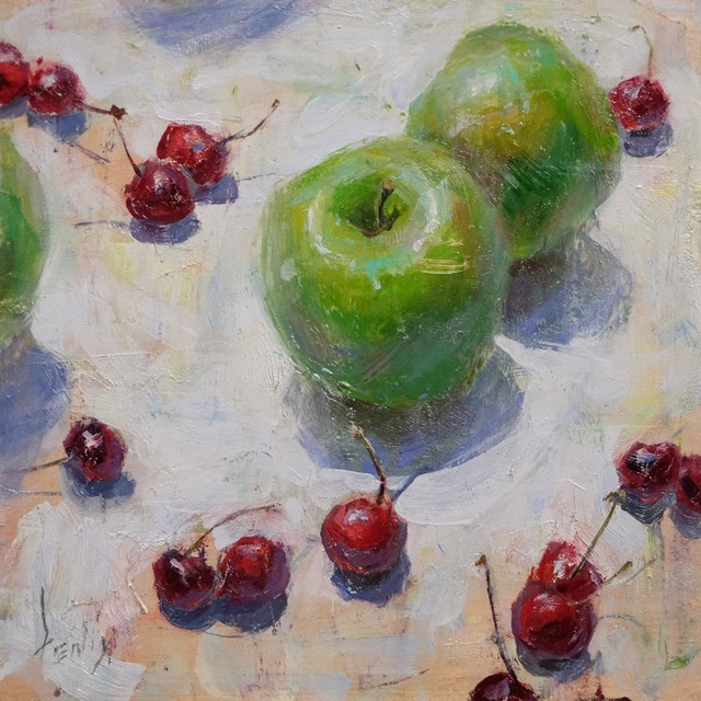 , 'Apples and Cherries,' 2015, Gallery 1261