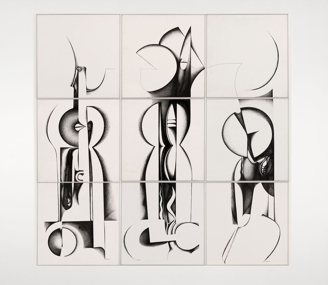 , 'Calligraphic Forms III,' 1989, Vigo Gallery