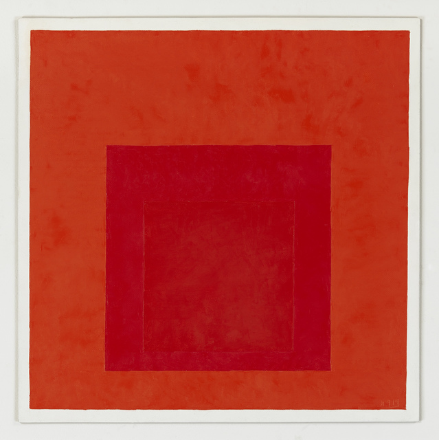 , 'Study for Homage to the Square Less is More, 1964, After Josef Albers,' 2014, RaebervonStenglin