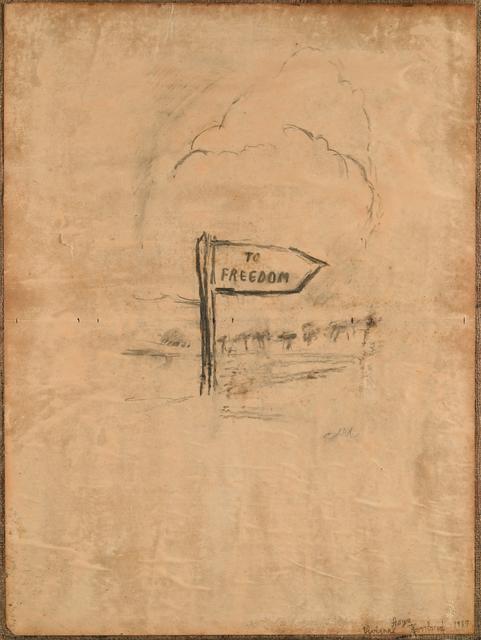 , 'Signpost,' 1989, Richard Saltoun