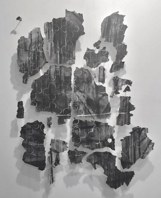 , 'Untitled (fragments of the mural Desde el fondo del tiempo),' 2016, Arróniz Arte Contemporáneo