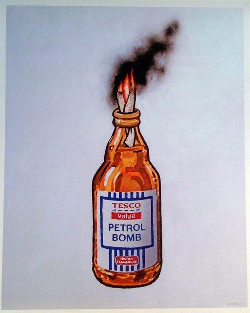 Banksy, 'Tesco Petrol Bomb', 2011, Reem Gallery