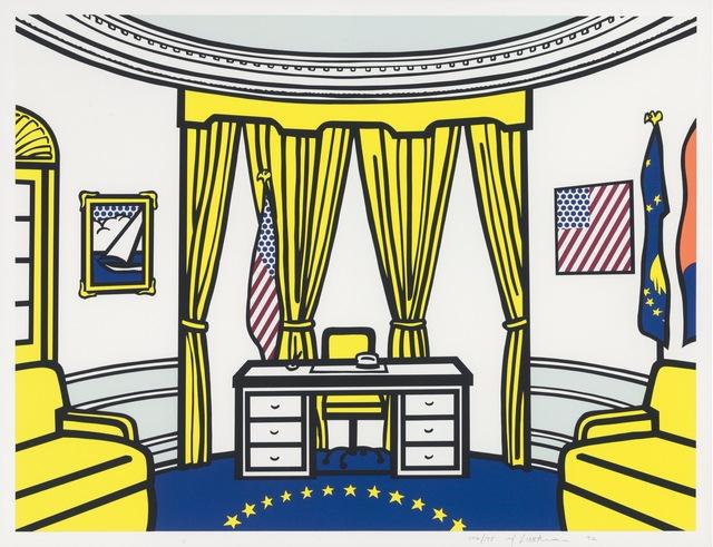 , 'The Oval Office  ,' 1992, Fine Art Mia