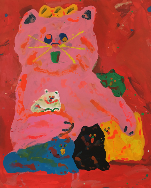 , 'Meaow Meaow Family,' 2017, V1 Gallery