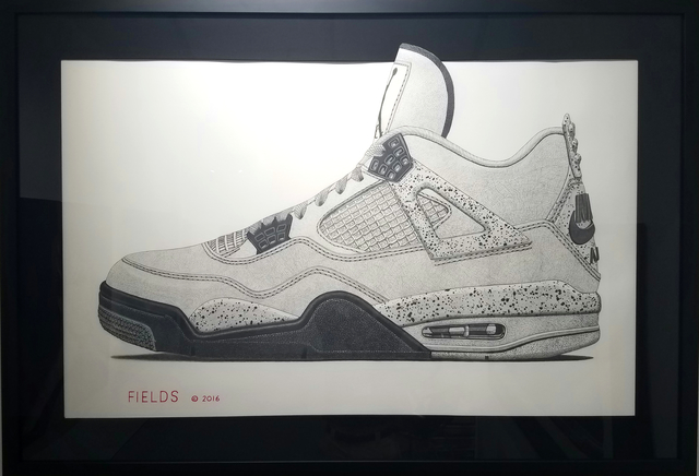 , 'Air Jordan 4,' 2016, Axiom Contemporary