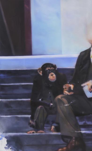 , 'Untitled (monkey man),' 2015, Zeno X Gallery