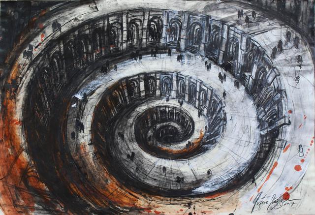, 'Dante´s hell serie,' 2017, Victor Lope Arte Contemporaneo