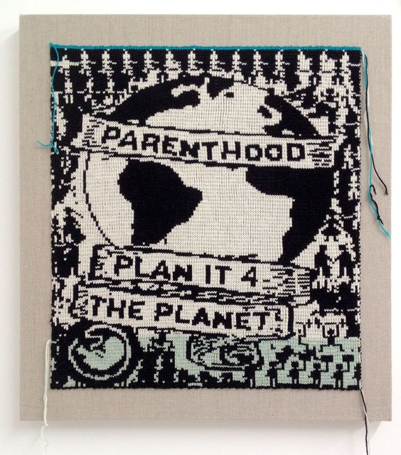 Lisa Anne Auerbach, 'Plan it for the Planet', 2014, Gavlak