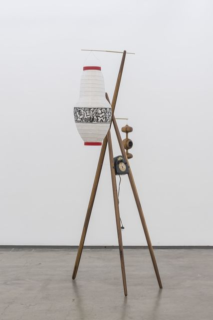 Edgar Orlaineta, 'Anachronic Lamp-Modern Sculpture (after Isamu Noguchi)', 2016, PROYECTOSMONCLOVA