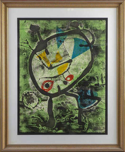 Joan Miró, 'Grans Rupestres II', 1979, Modern Artifact