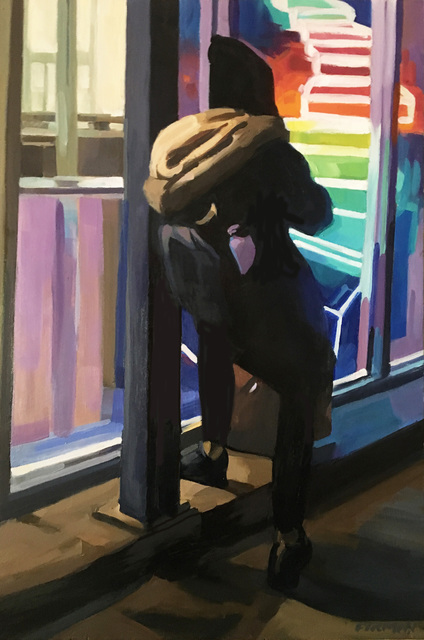 , 'Taking a break,' 2018, Rice Polak Gallery