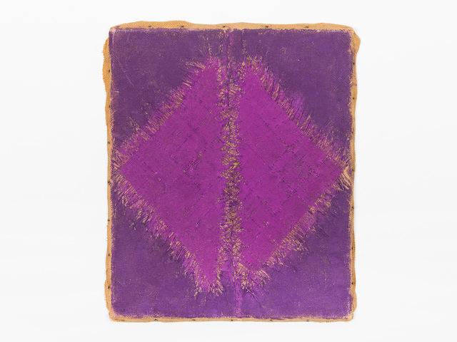Hanna Eshel, 'Untitled (10) -- Violet 2 Triangle - Dialectique', 1969, Patrick Parrish Gallery