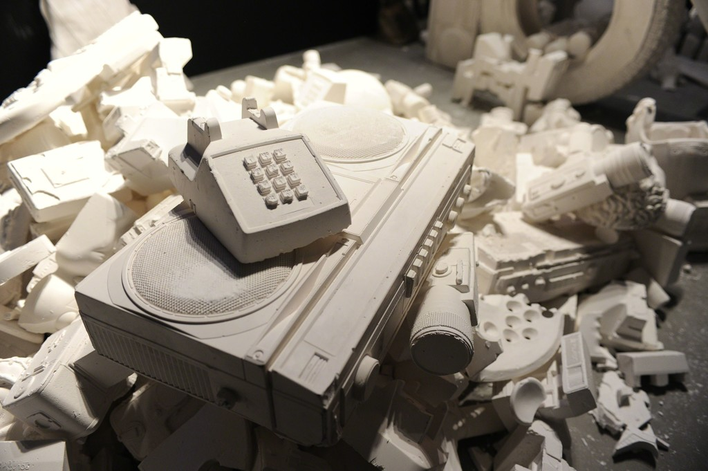 "Installation view of ""The Future Was Written"" at YoungArts Foundation © World Red Eye"