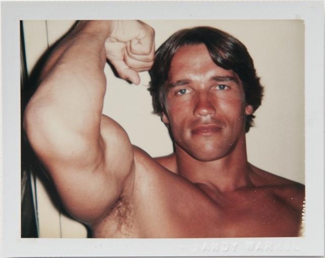 , 'Andy Warhol, Polaroid Portrait of Arnold Schwarzenegger,' 1977, Hedges Projects