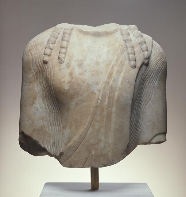 'Torso of a Kouros', ca. 520 BCE, J. Paul Getty Museum
