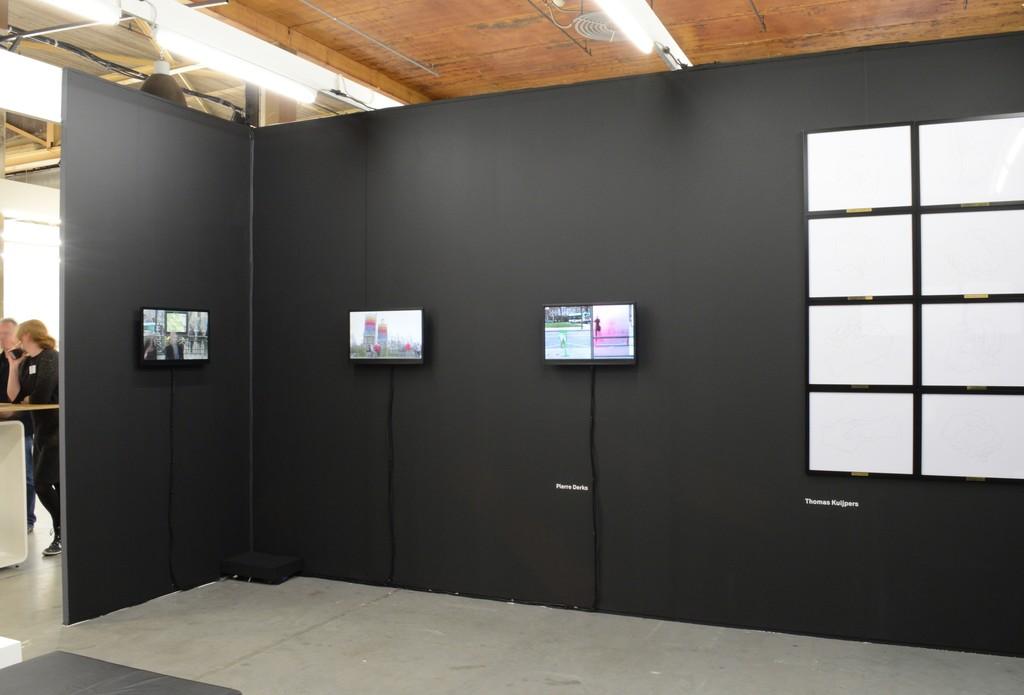 Video work by Pierre Derks