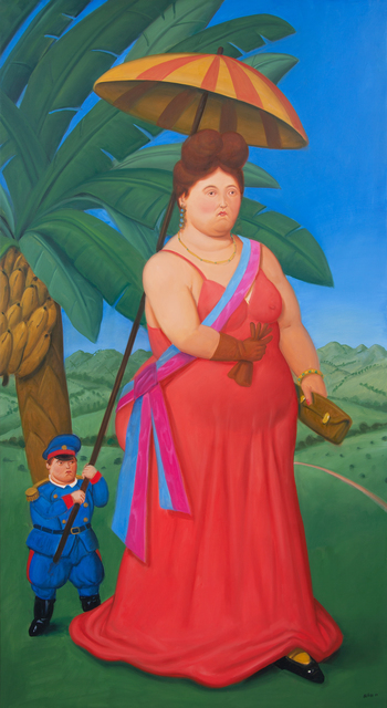Fernando Botero, 'The first Lady', 2010, Opera Gallery