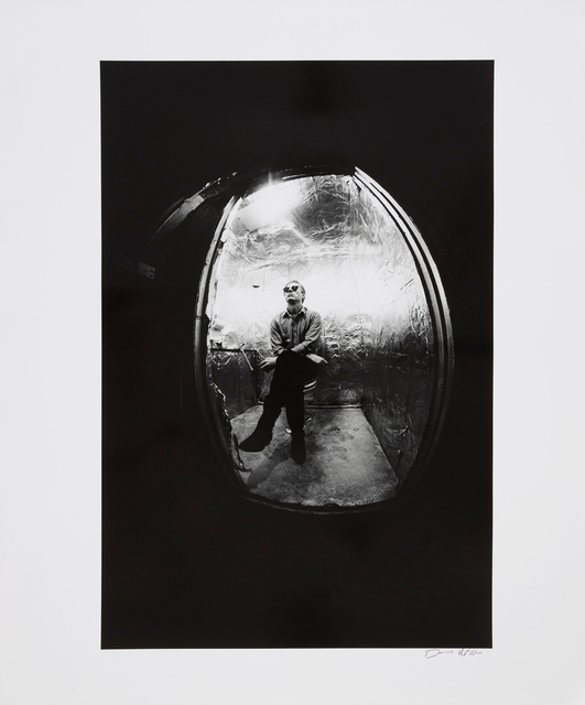 , 'Andy Warhol in the Bathroom at The Factory, New York,' 1964, Gagosian