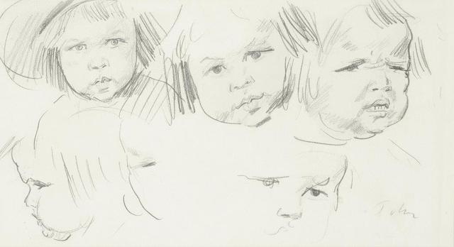 , 'Robin John and other members of the John Family,' ca. 1907, Christopher Kingzett Fine Art