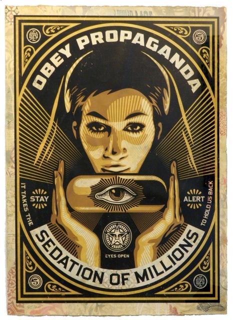 Shepard Fairey, 'Sedation Pill', 2013, 3 Punts Galeria