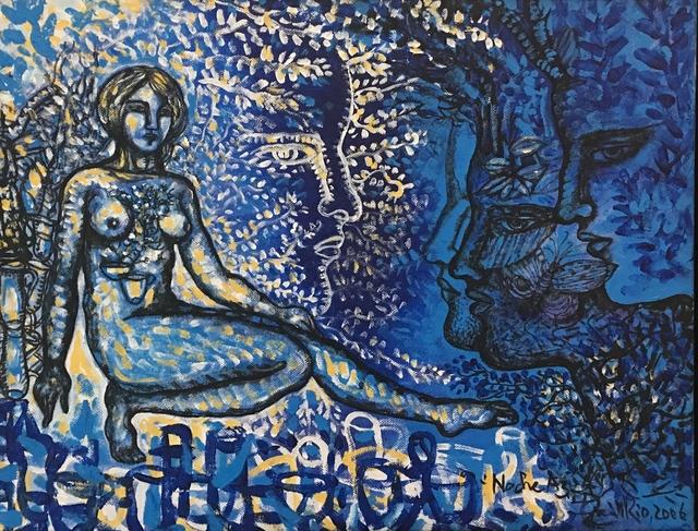 Zaida del Río, 'Noche Azul', 2006, MLA Gallery