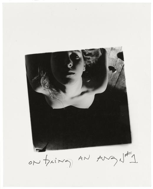 , 'On Being an Angel # 1, Providence, Rhode Island,' 1977, Foam Fotografiemuseum Amsterdam