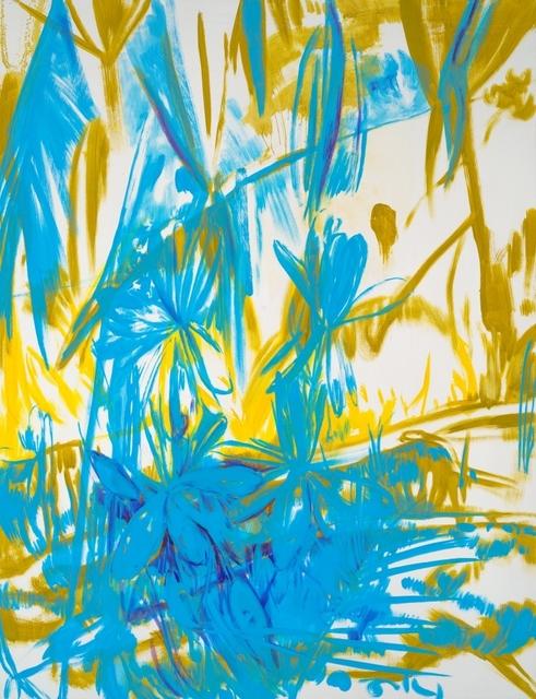 Yvette Kießling, 'Zanzibar, blue, yellow, violett', 2019, Galerie Schimming
