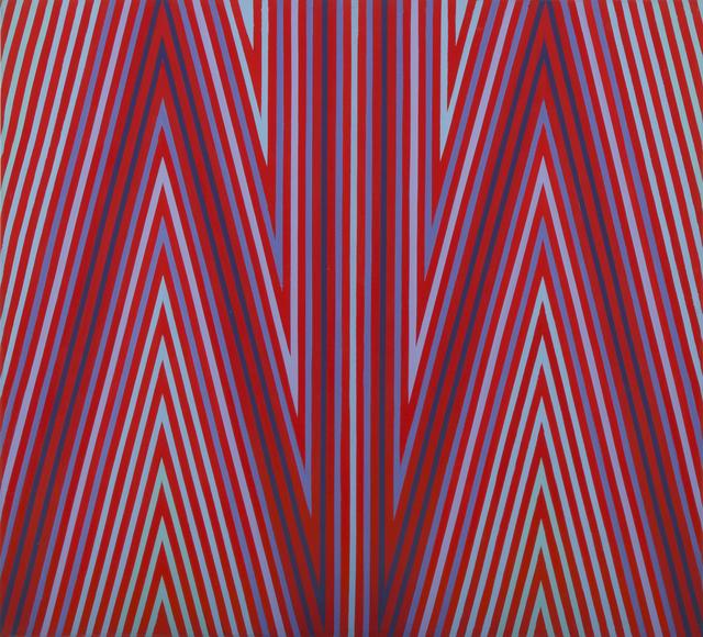 , 'Cadmium Cadence #147,' 1972, Peyton Wright Gallery