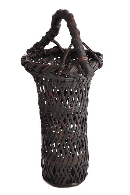 , 'Basho Plaiting Splayed Flower Basket,' 1877-1937, Yumekoubou Antique