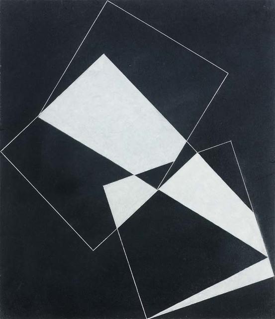 , 'Three Square Relationship, White,' 2009, Waterhouse & Dodd