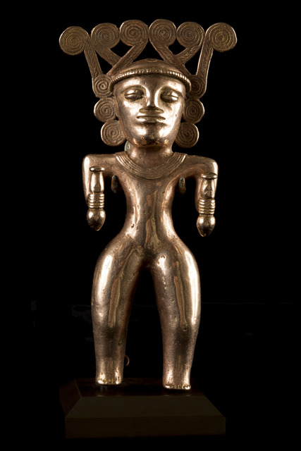 , 'Rare International Style Gold Figure of Shaman,' 500-1000, Muzeion Gallery