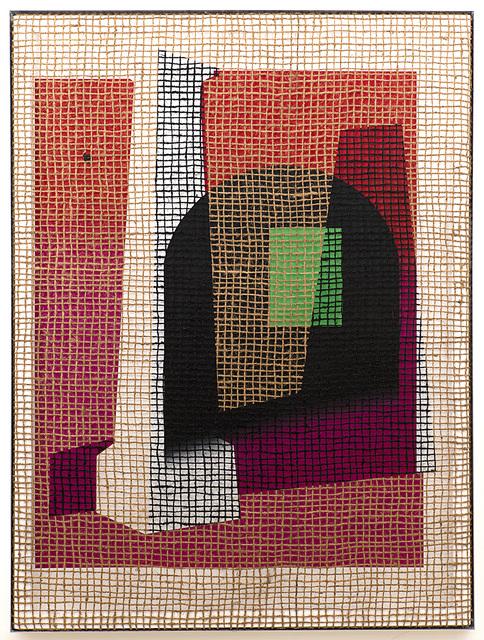 , 'Floorplan Desire Painting,' 2016, Galerie Peter Kilchmann