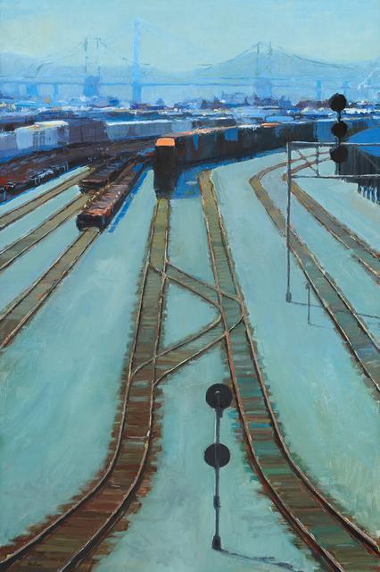 , 'Rails,' 2015, Paul Thiebaud Gallery