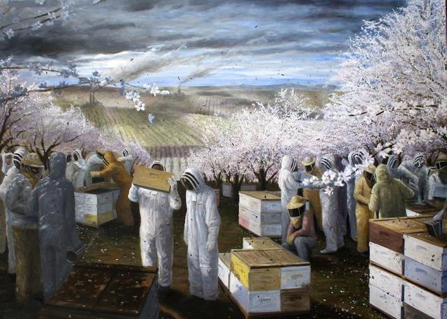 , 'Mono-culture Pollination,' 2012, Gabarron Foundation