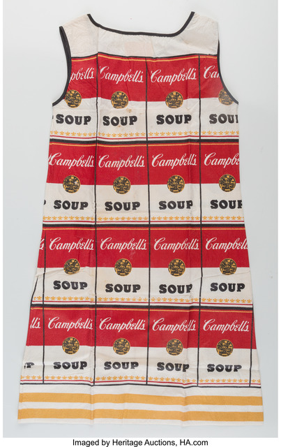 Andy Warhol, 'The Souper Dress (Limited Edition)', 1966-67, Print, Screenprint on cellulose, Heritage Auctions