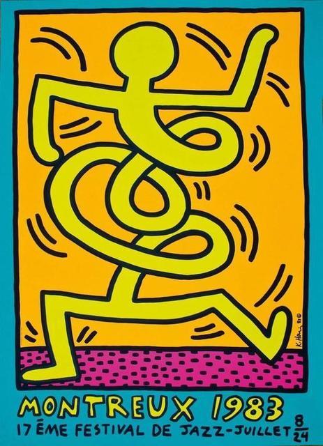 , 'Montreux Jazz Festival (Yellow Man).,' 1983, Rhodes