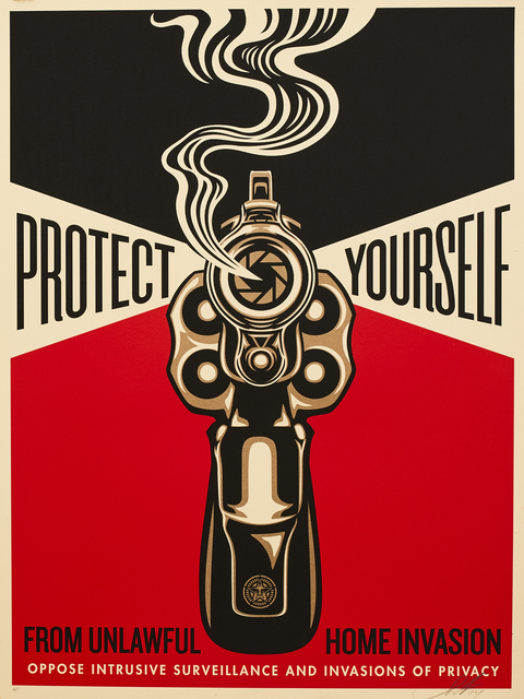Shepard Fairey, 'Home Invasion', 2014, Sping/Break Benefit Auction