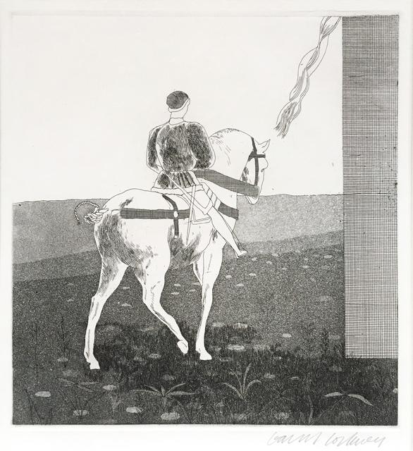 David Hockney, 'Rapunzel, Rapunzel, Let Down Your Hair', 1969, Adrian Hill Fine Art