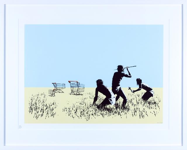 Banksy, 'Trolley Hunters (Colour)', 2007, Gormleys Fine Art