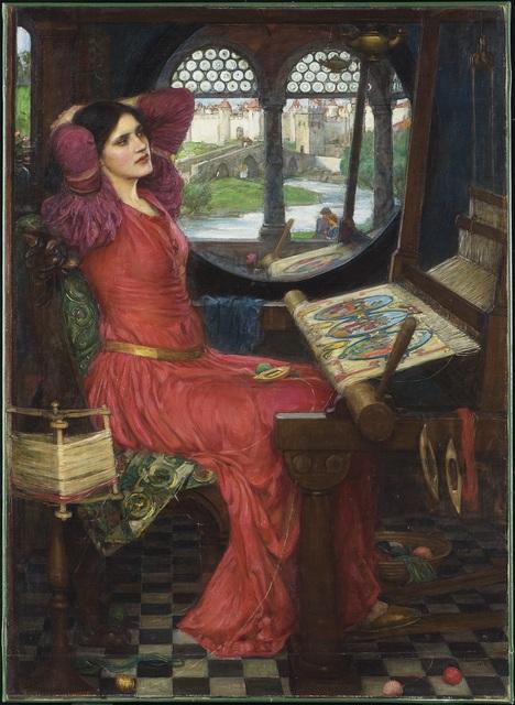 "John William Waterhouse, '""I am half sick of shadows,"" said The Lady of Shalott', 1915, Art Gallery of Ontario (AGO)"