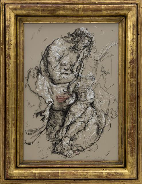 , 'Drawing 16 (after Van Noordt),' 2017, Gagosian