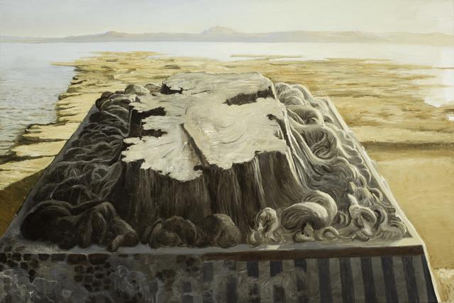 Eric Pérez, 'Templo Mayor', 2020, Painting, Oil on canvas, Aldama Fine Art